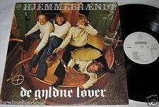DE GYLDNE LOVER hjemmebraendt LP Stuk Rec. HOLLAND 1975 Rare FOLK !!!