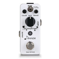 White Donner Jet Convolution flanger guitar effect pedal Free Shipping