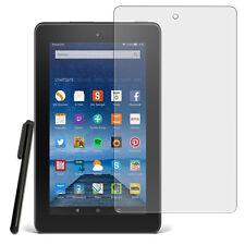 3x HD claramente lámina protectora de pantalla nueva F. Amazon Kindle Fire 7 (modelo 2015) + Pen
