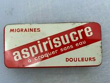 Vintage And Rare French Antique Tin