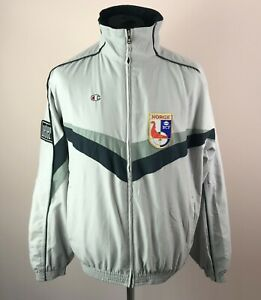 Lars Vagberg Team NORWAY Curling GAME WORN Track Jacket Men's Size L Champion