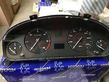 PEUGEOT 406 MK2 D9 INSTRUMENT CLUSTER CLOCK SET 6104YK 9648214080 VDO D9/15M