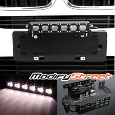 Bumper License Plate Holder Mount Bracket/30W CREE LED Work Light Bar Truck/SUV