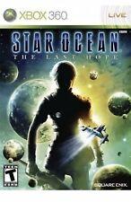 Star Ocean: The Last Hope Xbox 360 Game Complete 3 Discs Sci-fi Fantasy T-kids