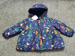 Baby Girl Next Winter Coat 6-9 Months BNWT 🍄