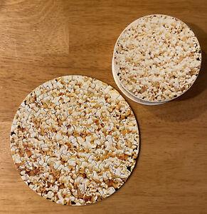 "Springbok Popcorn Mini Jigsaw 7"" Round Puzzle 1973 60p Appeteasers"