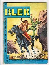 ▬► BLEK N° 177 de 1970 TBE