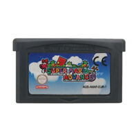 Super Mario Advance GBA Game Boy Advance Cartridge EU English