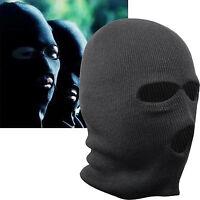 Black Balaclava Mask Thinsulate Warm Winter SAS Style Army Ski Hat Neck Warmer n