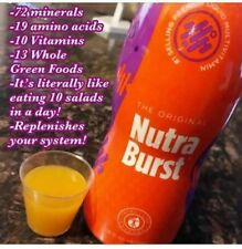 NUTRA BURST 16 OZ BOTTLE TLC ONE MONTH SUPPLY IASO BRAND NEW TOTAL LIFE CHANGES