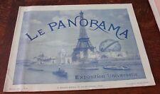 LE PANORAMA DE L' EXPOSITION UNIVERSELLE PARIS 1900  N°7 neurdein baschet
