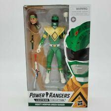 Hasbro E8966 Power Rangers Lightning Green Ranger 7 inch Action Figure