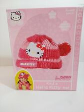 bnwt girls hello kitty striped band ear muffs one size adjustable