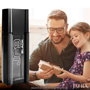 Jafra JF9 black Cologne For Men 100 ml 3.3 Fl New In Box
