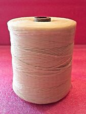 Waxed Nylon Lacing Twine Cord 600M (656 yds) - Rug Braiding Weaving, Shoe Repair