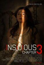 INSIDIOUS 3 - Movie Poster - Flyer - 11x17 - STEFANIE SCOTT - VERSION B
