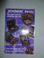 Jensen 94 Master Catalog of Tools for Electronics Shops & mobile Technicians