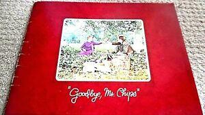 GOODBYE MR. CHIPS (1969) CINEMA FILM MOVIE SOUVENIR BROCHURE PROGRAMME