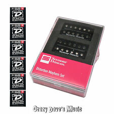 Seymour Duncan Distortion Mayhem Humbucker Pickup Set NEW w Dunlop Medium x6