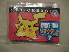 Pokemon stickers stickertime album no. 49