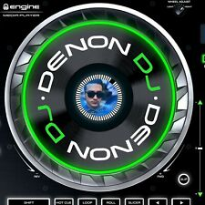 DENON DJ SC5000 Jog Pegatinas/Fieltro gráficos/PRIME/X1800-x 2