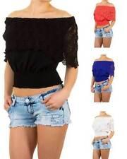 Markenlose locker sitzende Damenblusen, - tops & -shirts im Blusen aus Polyester