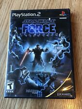 Star Wars: The Force Unleashed (Sony PlayStation 2, 2008) PS2 H1
