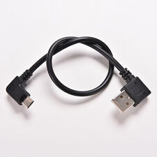 Micro USB 5 Pin Male to USB 2.0 A Male Cable Converter 90 Degree Adapter RigBLCA