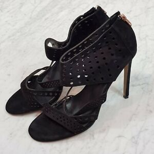[ WITCHERY ] Womens Suede Leather Heels Shoes | Size EUR 39