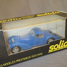 295D Solido 88 Bugatti Atalante Bleu 1:43