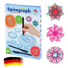 27Stk Spirograph Zeichnen Schablone,Spirale Musterung Lineal,Bildung Spielzeug
