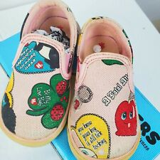 Harajuku Lovers Sneakers Size 5 Infants Girl Toddler Pink Kogal Be Mine Canvas