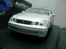 WOW EXTREMELY RARE Lexus GS 400 1999 Silver 1:18 AutoArt-IS/RX/300/350/GT/Toyota