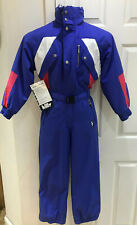 KILLY FULL SKI SUIT NEW WITH TAGS (SIZE 10) CLASSIC RETRO VINTAGE