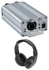Chauvet DJ DMX-AN Art-Net to DMX / DMX to Art-Net Interface Converter+Headphones