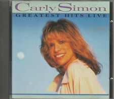 1988 - CARLY SIMON - GREATEST HITS LIVE CD ALBUM