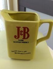 Vintage J&B Scotch Whisky Whiskey Wade PDM England Olive Green Ceramic Pitcher