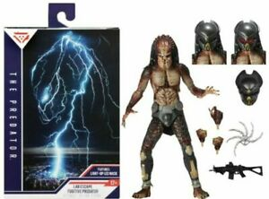 NECA The Predator ULTIMATE FUGITIVE PREDATOR Lab Escape Figure 2019 DAMAGE BOX