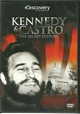 KENNEDY & CASTRO THE SECRET HISTORY DVD - DISCOVERY CHANNEL