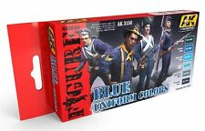 Ak Interactive AKI 3150 Figure Series: Blue Uniform Colors