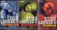 Verdammnis / Verblendung / Vergebung - Stieg Larsson [3 Bände]
