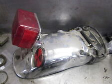 Yamaha XS850 XS750 Triple 1978 - 1980 Rear Fender & Tail Light, License Bracket
