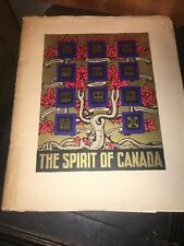 Spirit Of Canada, Souvenir Of Welcome To King George And Queen Elizabeth 1939