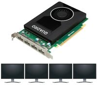 Nvidia quadro M2000 4GB 4x dp CAD Graphic Card CATIA Solid Works all Plan