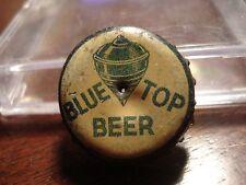 Blue Top Beer - Canadian cork beer bottle cap - Canada crown