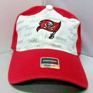 Tampa Bay Buccaneers NFL Reebok Women's Red Curved Brim Cap/Hat OSFM