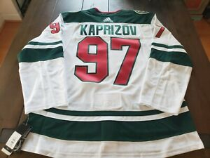 Minnesota Wild Kirill Kaprizov Authentic Adidas Adizero Away Jersey 54 NWT