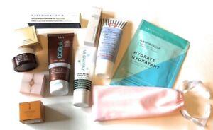 LOT of 10 Luxury Skincare Samples: Patchology,AMOREPACIFIC,MUDMASKY,COOLA,+