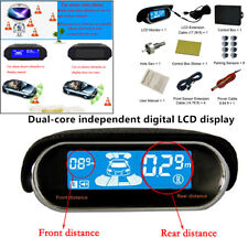 Dual-core Double LCD Display System 8 Parking Sensor Car Reverse Radar Alarm Kit