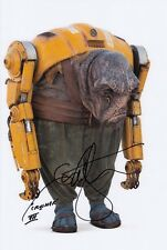 IAN WHYTE signed Autogramm 20x30cm STAR WARS In Person autograph COA CRUSHER